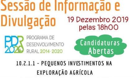 Sessão Medida PDR 2020