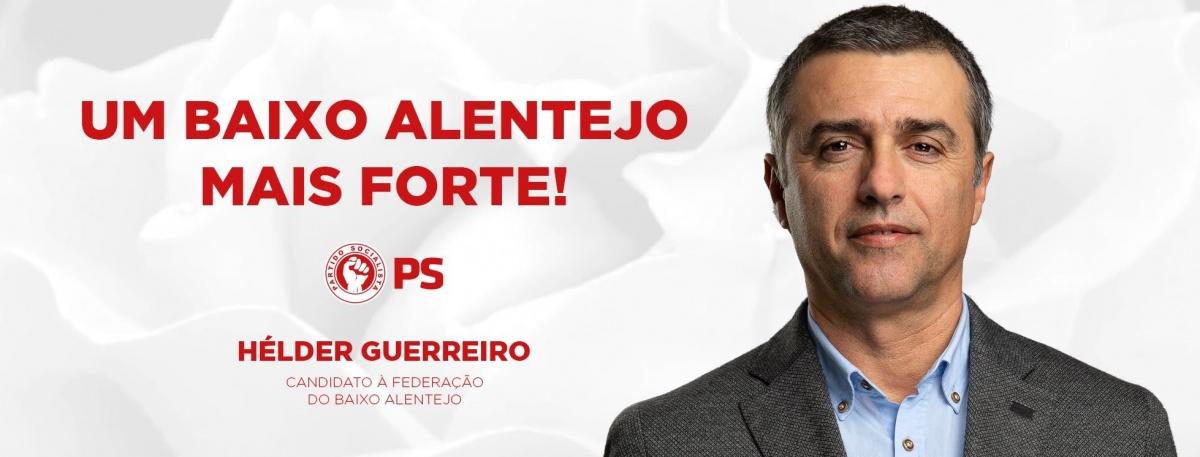 candidato Hélder Guerreiro