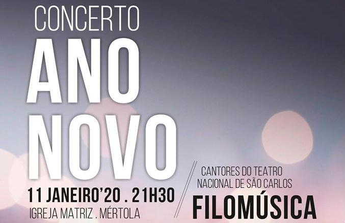 Concerto Ano Novo Mértola