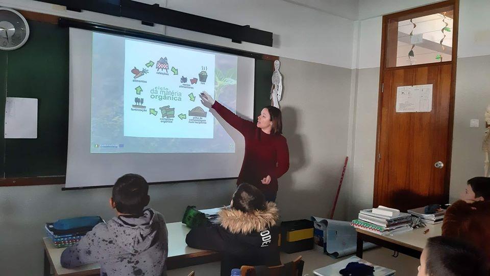 ADPM escolas compostagem