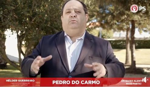 Pedro do Carmo apoia Helder Guerreiro