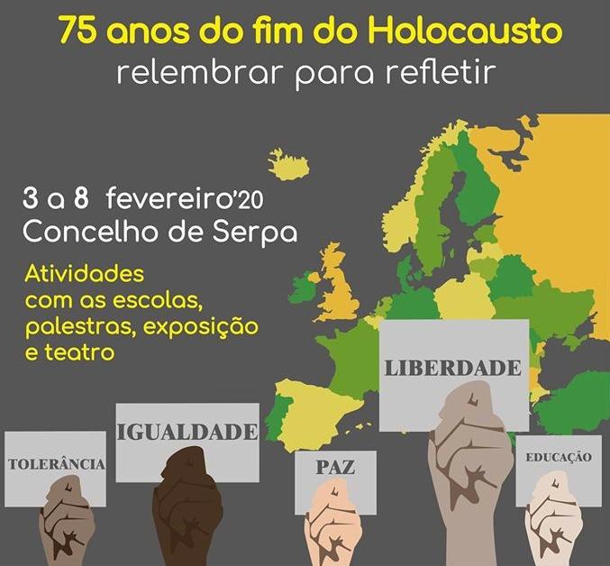 Serpa iniciativas sobre Holocausto