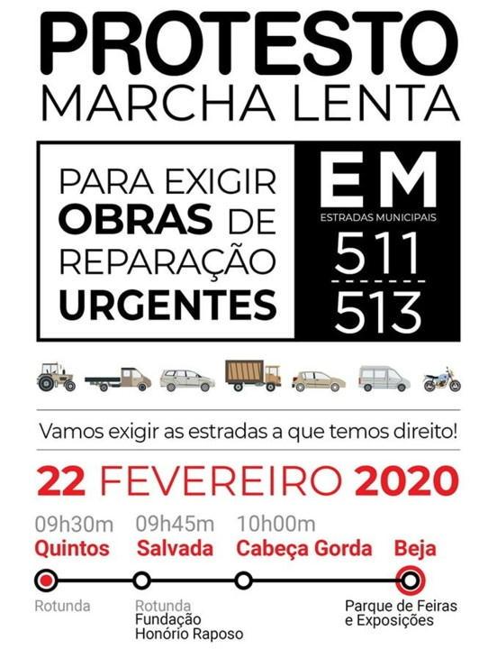 Marcha Lenta Protesto EM 511 e 513