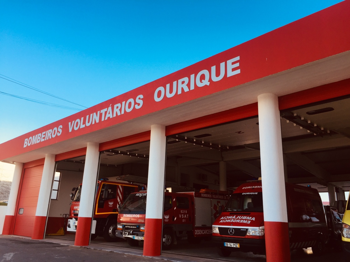 Quartel Bombeiros Voluntários Ourique