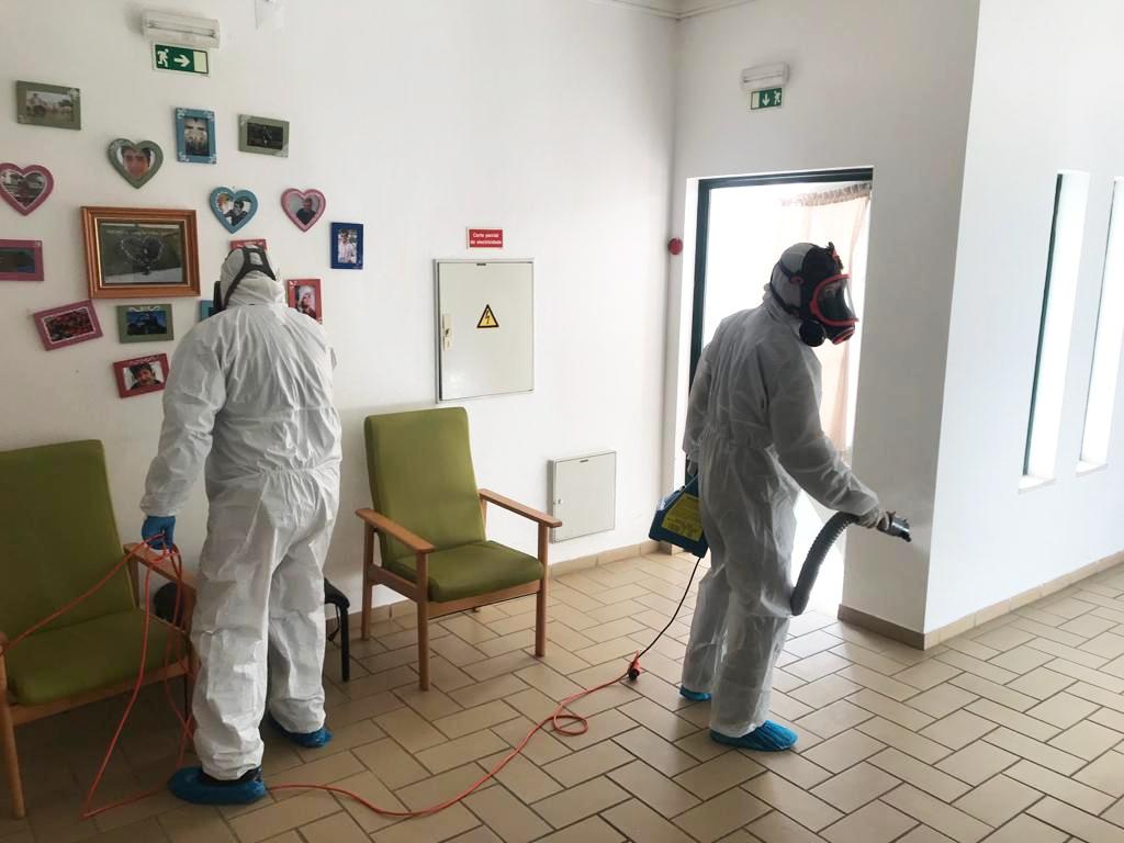desinfecção lares