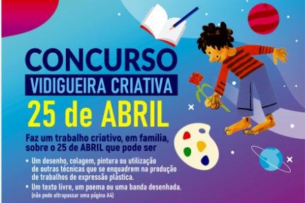 Vidigueira Criativa - 25 de Abril
