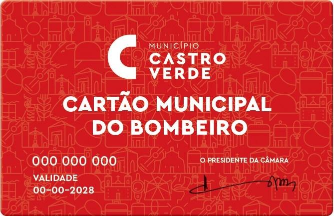 Cartão Municipal do Bombeiro