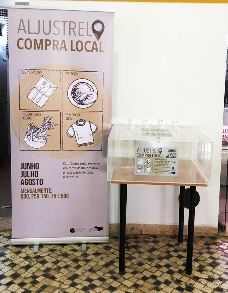 """campanha """"Aljustrel Compra Local"""""""