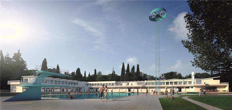 Projeto piscina de Beja