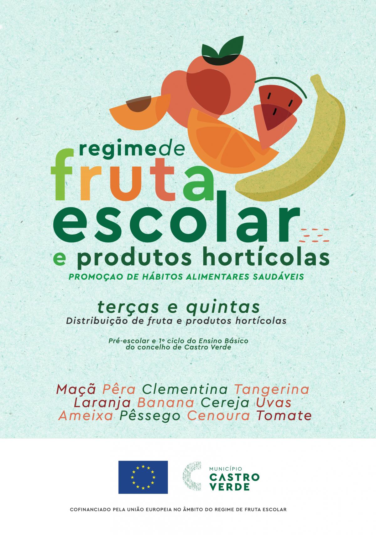 Castro Verde distribuição de Fruta