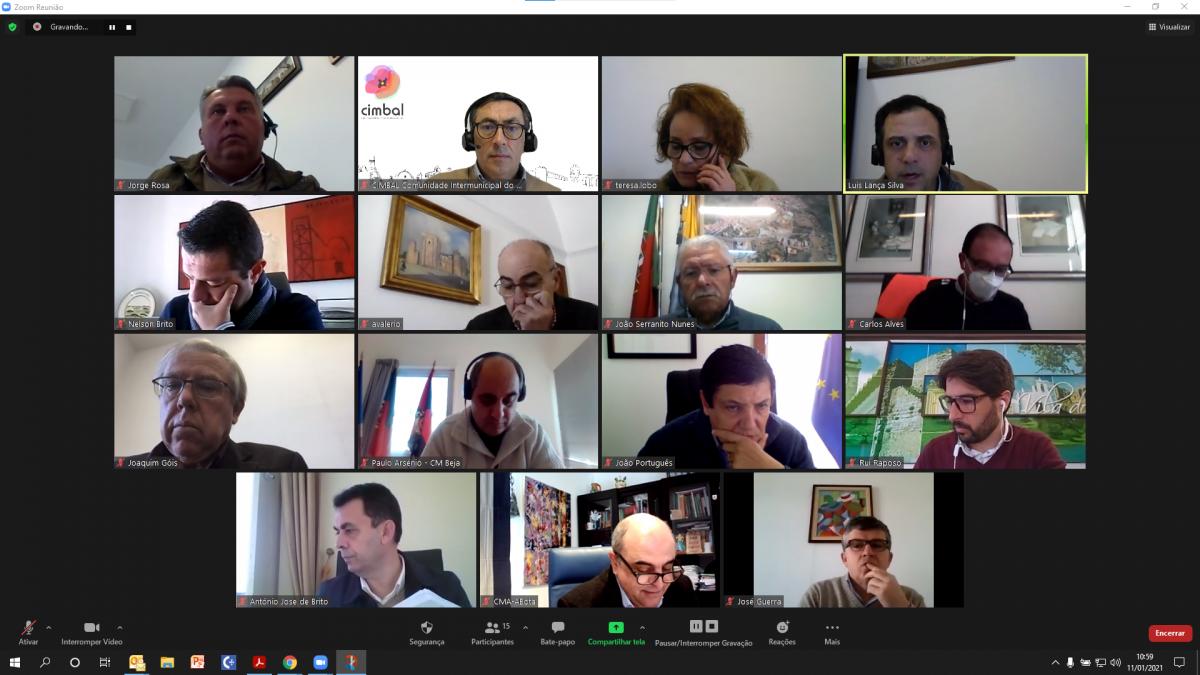 1ª reunião CIMBAL