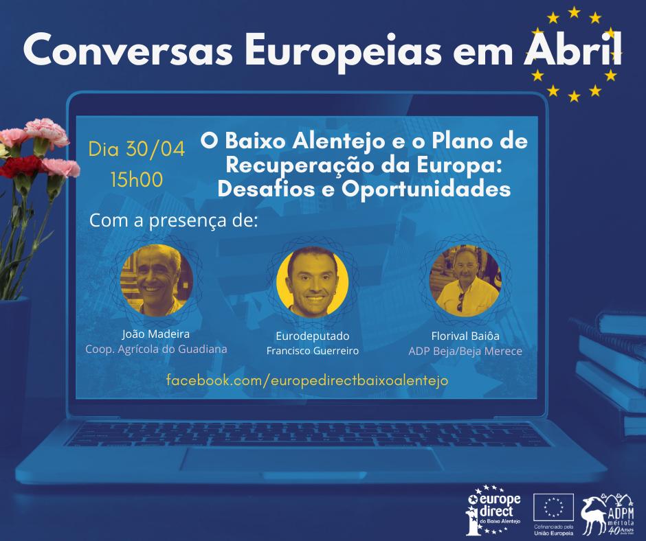 O Baixo Alentejo e o plano de recuperação da Europa: desafios e oportunidades