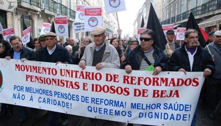 Manifestação Reformados