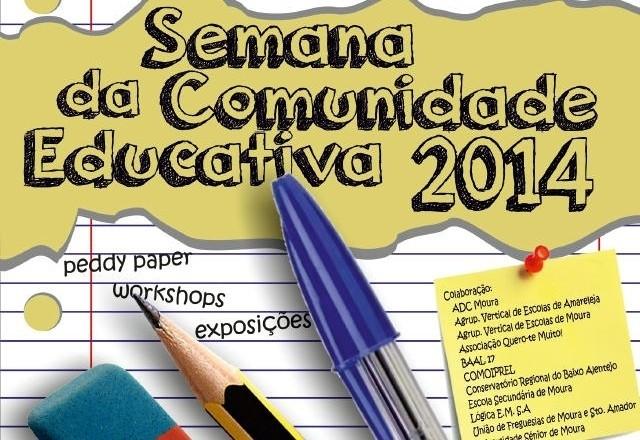 se,mana comunidade educativa em Moura 2014