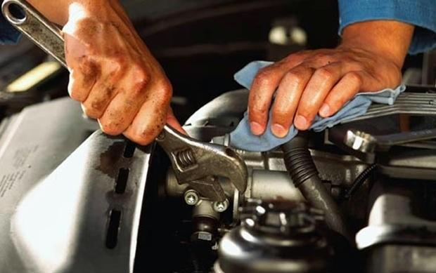 Reparar motor de automóvel