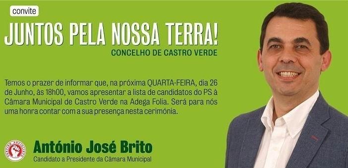 Apresentação lista PS Castro Verde