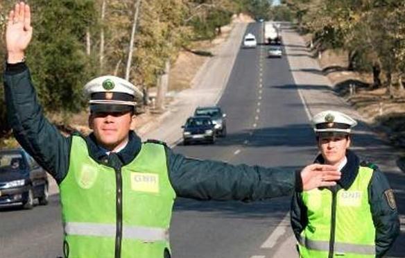 GNR operação na estrada