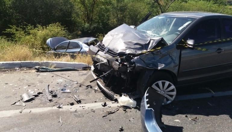 estrada acidente