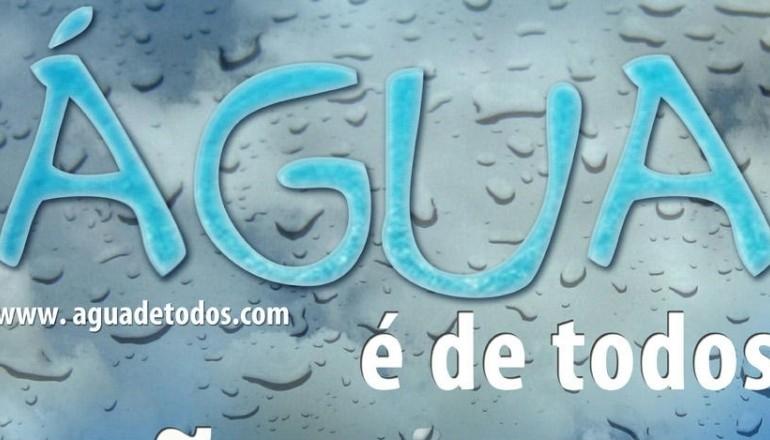 ÁGUA É DE TODOS CARTAZ