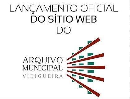 sítio web arquivo municipal Vidigueira