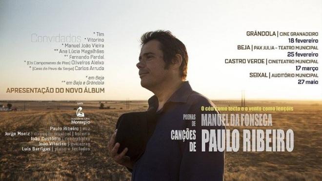 Paulo Ribeiro apresenta novo disco em Castro Verde
