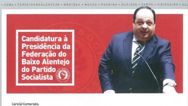 Pedro do Carmo vai hoje a votos