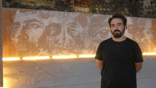 Obra de Vhils marca inauguração do Festival Beja na Rua