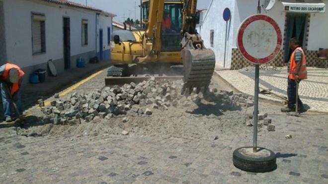 EMAS com obras de beneficiação em Salvada e Cabeça Gorda