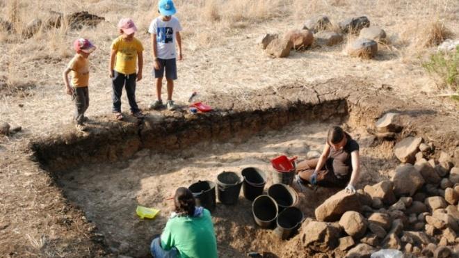 Outeiro do Circo com novas escavações