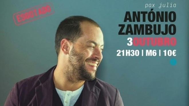 António Zambujo em Beja com casa cheia