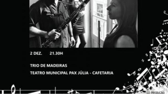 Trio de Madeiras encerra 1ªTemporada de Concertos do CRBA