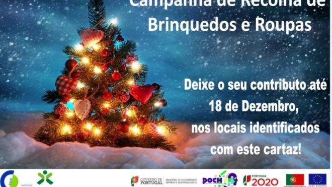 Campanha de Recolha de Roupas e Brinquedos em Beja