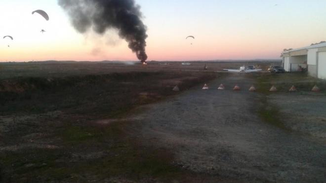 Avioneta civíl despenha-se junto ao Aeródromo Municipal de Beja