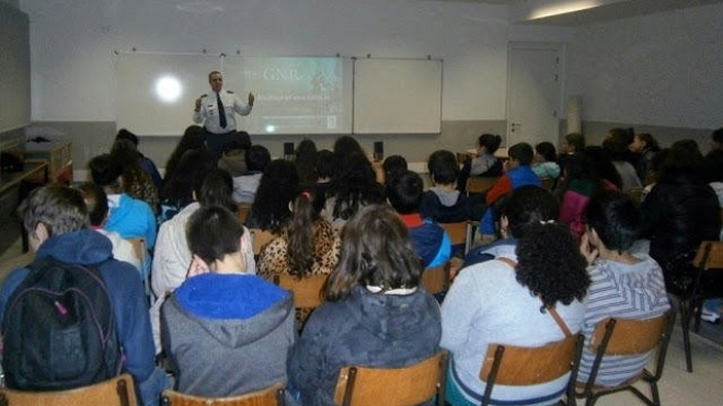 GNR sensibilizou comunidade escolar para a não violência