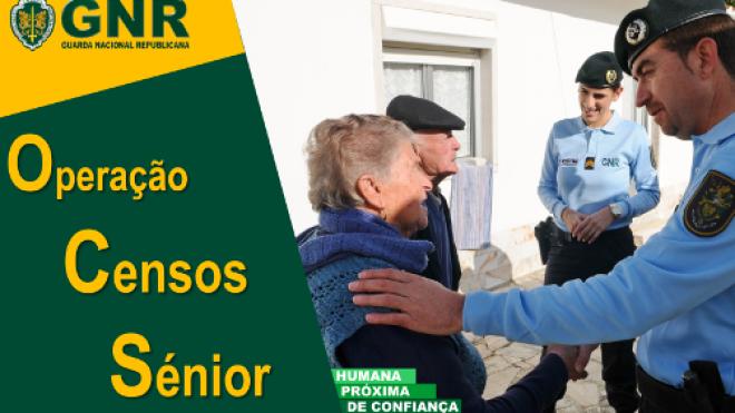 """""""Censos Sénior"""" da GNR está no terreno"""