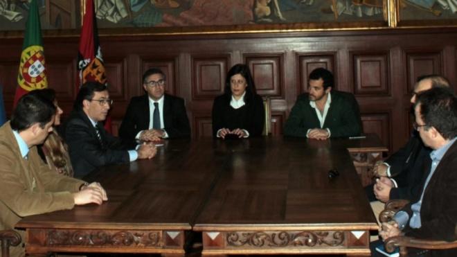 Dirigentes do IEFP do Alentejo em Beja