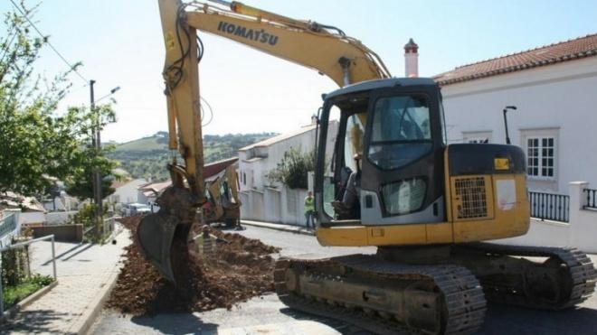 Inicio das obras de ligação ao novo depósito em Ourique
