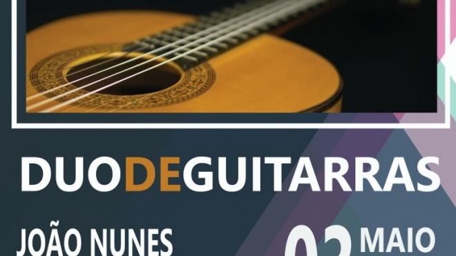 Duo de guitarras para ouvir no Pax Julia em Beja