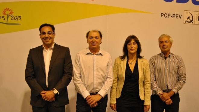 CDU apresentou candidatos a Beja