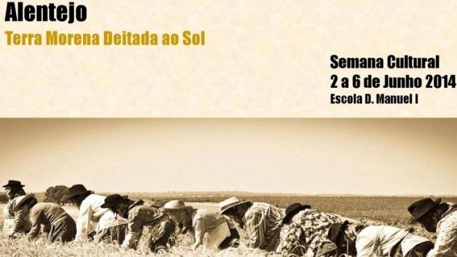 Semana Cultural do Alentejo na D. Manuel I