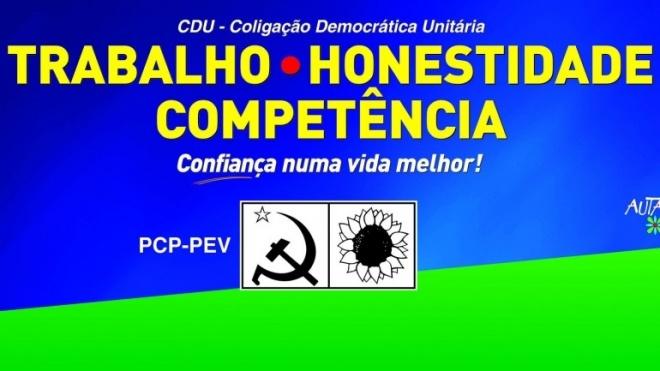 CDU candidata três independentes a Cabeça Gorda, Neves e Trigaches e S. Brissos