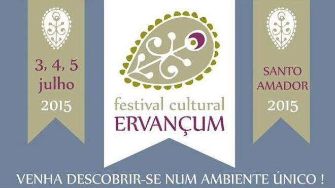 Festival Cultural Ervançum em Santo Amador