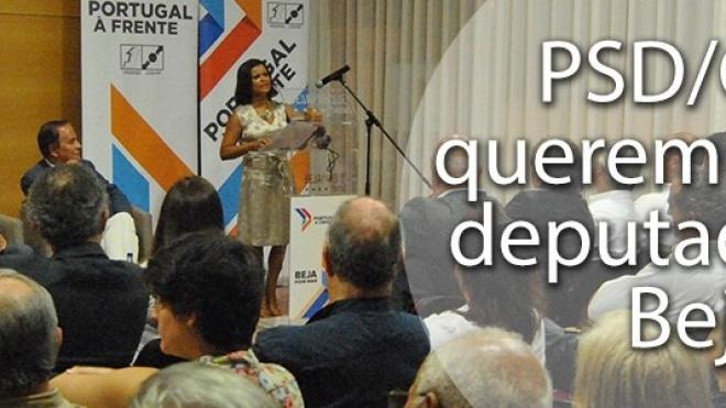 PSD/CDS acreditam na eleição de um deputado por Beja