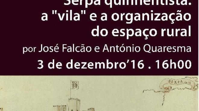 """Serpa Quinhentista"" hoje na Biblioteca de Serpa"