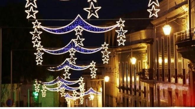 Beja já está iluminada para o Natal