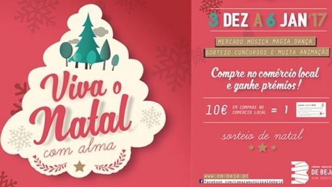 """""""Viva o Natal com Alma"""" em Beja até 6 de janeiro de 2017"""