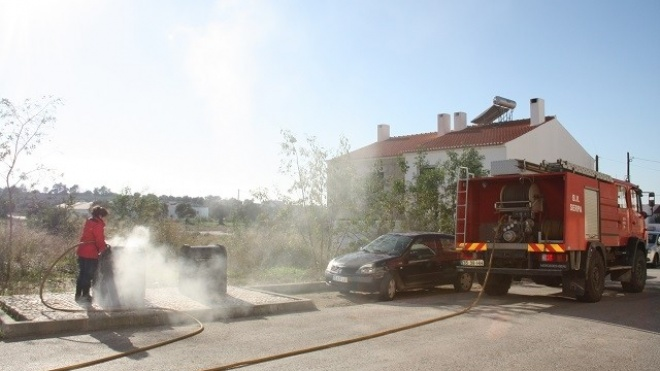 Serpa alerta população para o perigo das cinzas nos contentores