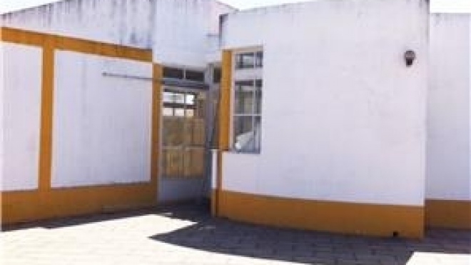 Obras de remodelação do Centro Cultural e Social do Corvo