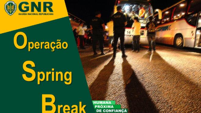 """GNR na estrada com Operação """"Spring Break"""""""