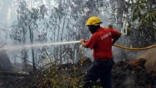 Bombeiros de Beja apagam incêndio em Castelo Branco